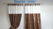 Set draperie DECORINT cu bride (COD:DB.04)