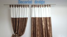 Set 2 draperii DECORINT cu bride (COD:DB.04)